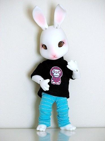 好听的qq空间名称_好卡哇伊的卡通兔图片_QQ好听网