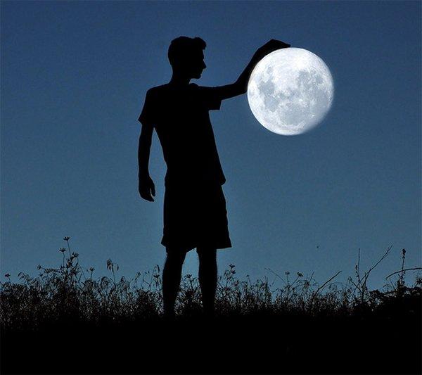 微信群昵称网名大全_唯美月亮图片:想和你一起,看月亮。_QQ好听网